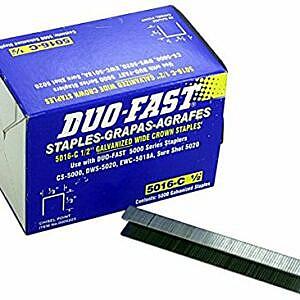 duo-fast staples