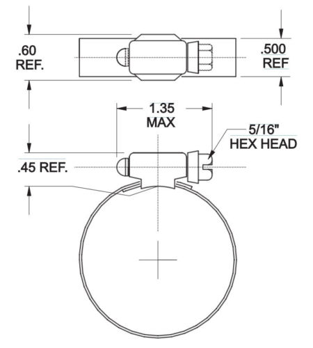 murray gold seal ss worm drive hose clamps h32ss  u2013 jack u0026 39 s