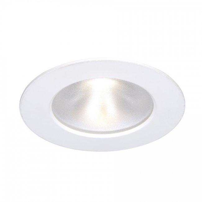 WAC Lighting HR-3LED-T118N-W-WT Tesla-3-Inch Open Reflector Round Trim,  White Finish